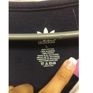 adidas Tops - Adidas Women L Mavericks Blue White Short Sleeve